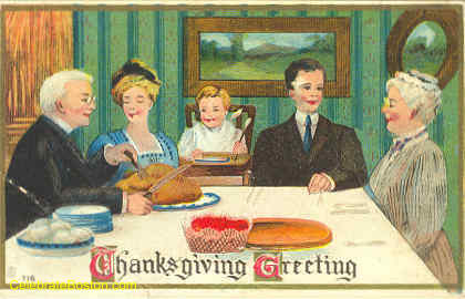 thanksgiving-victorian-family