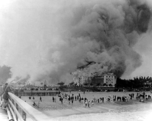 The Breakers Hotel Palm Beach Fire