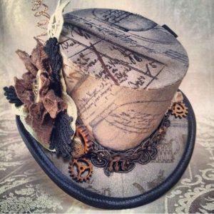 Steampunk women's hat