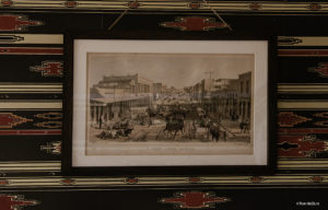 Lithograph of F Street