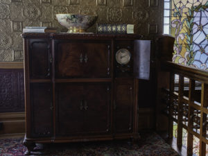 Margaret Brown's Capehart radio