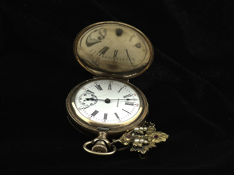 Margaret Brown's Gold Watch