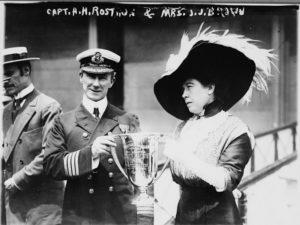 Margaret w/Capt. Rostron