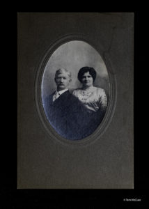 Photo of James Kevin Brown and wife Mary Brown