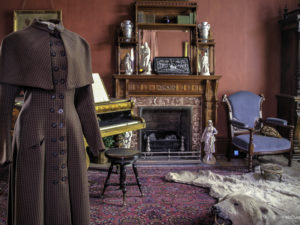 Riding Coat in Parlor