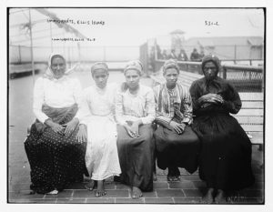 Female Immigrants at Ellis Island