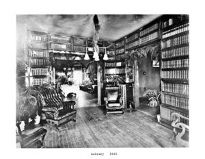 Brown Home Library