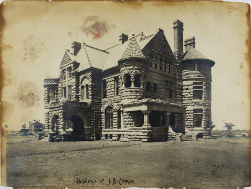 Residence of J.B. Orman