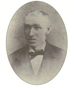 Black and white portrait photograph of John Tobin