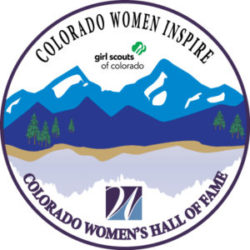 Colorado Women's Hall of Fame Girl Scout Patch