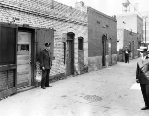 Policemen in Hop Alley, courtesy of DPL