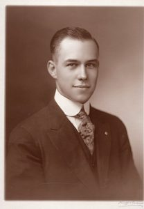 Harry T. Burn in 1918 during his first campaign for State Representative in McMinn County, TN