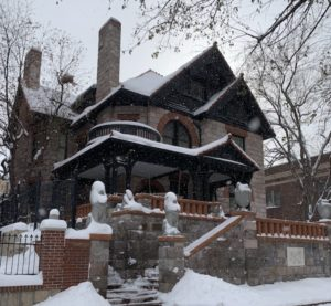 Molly Brown House Museum in winter used as a link to events page